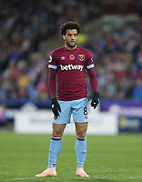 West Ham United's Felipe Anderson<br /> <br /> Photographer Rob Newell/CameraSport<br /> <br /> The Premier League - Huddersfield Town v West Ham United - Saturday 10th November 2018 - John Smith's Stadium - Huddersfield<br /> <br /> World Copyright © 2018 CameraSport. All rights reserved. 43 Linden Ave. Countesthorpe. Leicester. England. LE8 5PG - Tel: +44 (0) 116 277 4147 - admin@camerasport.com - www.camerasport.com