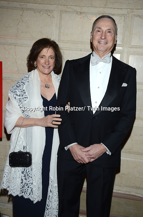 Dr Elisabeth Cohen and husband Dr Robert L Grossman attend the New York Landmarks Consevancy's 20th Annual Living Landmarks Celebration on November 14, 2013 at the Plaza Hotel in New York City.