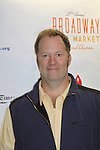 Shuler Hensley at the 27th Annual Broadway Flea Market & Grand Auction to benefit Broadway Cares/Equity Fights Aids in Shubert Alley, New York City, New York.  (Photo by Sue Coflin/Max Photos)