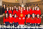 Lixnaw  NS Girls,  Miss Katie Costello's 5th and 6th classes  who were confirmed in St. Michael's Church, Lixnaw by the Bishop of Kerry Ray Browne on Thursday