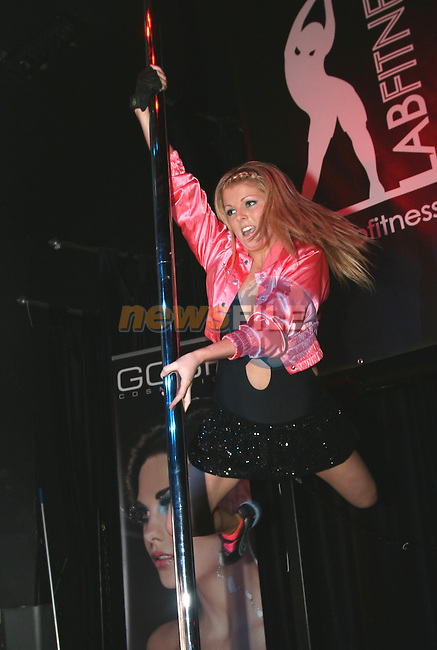 Tracey Tohey at the Irish Poledancing Championship in Fusion NiteClub Drogheda.....Photo NEWSFILE/Jenny Matthews.(Photo credit should read Jenny Matthews/NEWSFILE)....This Picture has been sent you under the condtions enclosed by:.Newsfile Ltd..The Studio,.Millmount Abbey,.Drogheda,.Co Meath..Ireland..Tel: +353(0)41-9871240.Fax: +353(0)41-9871260.GSM: +353(0)86-2500958.email: pictures@newsfile.ie.www.newsfile.ie.FTP: 193.120.102.198.
