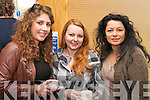 Pictured at the Creative Media Symposium at the IT, Tralee on Friday, from left: Megan Roche, Jane Callahan and Sidi Yacoub..