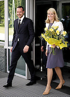 Crown Prince & Princess of Norway Visit Poland 2005