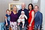 Ethan Twomey Killarney celebrated his christening with his parents William and Linda Twomey, big brother Fionn and god parents Gerard and Olivia Moynihan