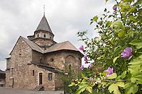 Europe/France/Aquitaine/64/Pyrénées-Atlantiques/Pays-Basque/Hôpital-Saint-Blaise: Église de L'Hôpital-Saint-Blaise