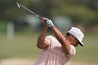 Thorbjorn Olesen (DEN) in action during the second round of the Omega Dubai Desert Classic, Emirates Golf Club, Dubai, UAE. 25/01/2019<br /> Picture: Golffile | Phil Inglis<br /> <br /> <br /> All photo usage must carry mandatory copyright credit (© Golffile | Phil Inglis)
