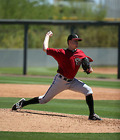 Taylor Wright - Arizona Diamondbacks 2016 extended spring training (Bill Mitchell)
