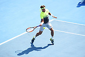 11th January 2018, ASB Tennis Centre, Auckland, New Zealand; ASB Classic, ATP Mens Tennis;  David Ferrer (ESP) during the ASB Classic ATP Men's Tournament Day 4 Quarter Finals