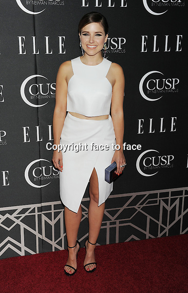 HOLLYWOOD, CA- APRIL 22: Actress Sophia Bush arrives at ELLE's 5th Annual Women In Music concert celebration at Avalon on April 22, 2014 in Hollywood, California.<br /> Credit: Mayer/face to face<br /> - No Rights for USA, Canada and France -
