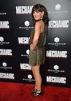 LOS ANGELES, CA. August 22, 2016: Actress Moniqa Plante at the Los Angeles premiere of &quot;Mechanic: Resurrection&quot; at the Arclight Theatre, Hollywood.<br /> Picture: Paul Smith / Featureflash