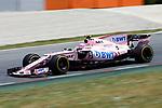 Spanish F1 Grand Prix Pirelli 2017.<br /> Esteban Ocon (Force India).