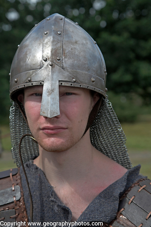 Soldier, Living History event, Sutton Hoo, Suffolk, England