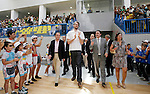 ALICANTE, Spain (05/07/2010).- Pau Gasol returned to Spain and now wears the ring as a champion of the NBA, though it is the first obtained  the last season as the one from this course have not yet delivered. Gasol also attended the opening of L'Alfas del Pi sports Pavilion that will take his name...Photo: Manuel Lorenzo / ALFAQUI
