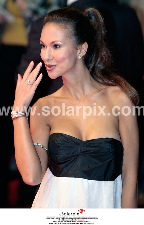 **ALL ROUND PICTURES FROM SOLARPIX.COM**.**PLEASE NOTE UK RESTRICTIONS - NO UK NEWSPAPER PUBLICATION - UK MAGAZINES ONLY**.**NO PUBLICATION IN FRANCE, SCANDANAVIA, AUSTRALIA AND GERMANY** ..Svetlana Metkina arrive at the UK Gala screening of the movie Bobby which tells the story of the assassination of U.S. Senator Robert F. Kennedy, on June 6th, 1968, which centers around 22 people who were at the Ambassador Hotel where he was killed...DATE: 26/10/2006-JOB REF: 2983-SFE.**MUST CREDIT SOLARPIX.COM OR DOUBLE FEE WILL BE CHARGED**
