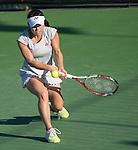 Hiroko Kuwata (JPN) defeats Allison Riske (USA) 6-0, 7-5