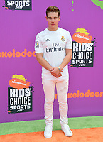 Ricardo Hurtado at Nickelodeon's Kids' Choice Sports 2017 at UCLA's Pauley Pavilion. Los Angeles, USA 13 July  2017<br /> Picture: Paul Smith/Featureflash/SilverHub 0208 004 5359 sales@silverhubmedia.com