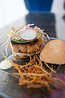 Punta del Mar Restaurant run by Chef Christian Bravo. Merida, Yucatan, Mexico