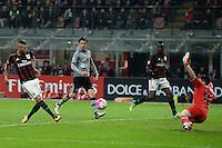 gol Jeremy Menez Milan Goal Celebration <br /> Milano 01-03-2016 - coppa Italia - Italy Cup Milan - Alessandria foto Matteo Gribaudi/Image Sport/Insidefoto