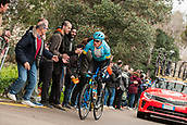 25th March 2018, Barcelona, Spain; Volta a Catalunya 2018 Cycling, Stage 7; Jan Hirt of Team ASTANA during the stage 7 of la Volta Catalunya