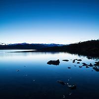 Lake Sitojaure, Kungsleden trail, Lapland, Sweden