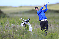 Greg Mungovan (Headfort) during the 2nd round of the East of Ireland championship, Co Louth Golf Club, Baltray, Co Louth, Ireland. 03/06/2017<br /> Picture: Golffile | Fran Caffrey<br /> <br /> <br /> All photo usage must carry mandatory copyright credit (&copy; Golffile | Fran Caffrey)