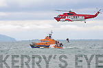 DISPLAY; Displaying their skill at the Fenit Regatta, on Sunday to raise funds for the RNLI were the Air Rescue and Feint RNLI Lifeboat...
