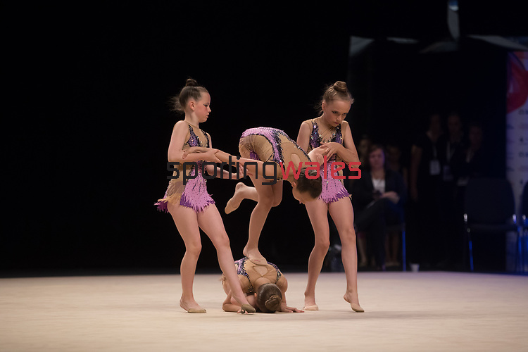 British Gymnastics Championships 2017<br /> Llanelli Academy<br /> Liverpool Echo Arena<br /> 30.07.17<br /> ©Steve Pope - Sportingwales