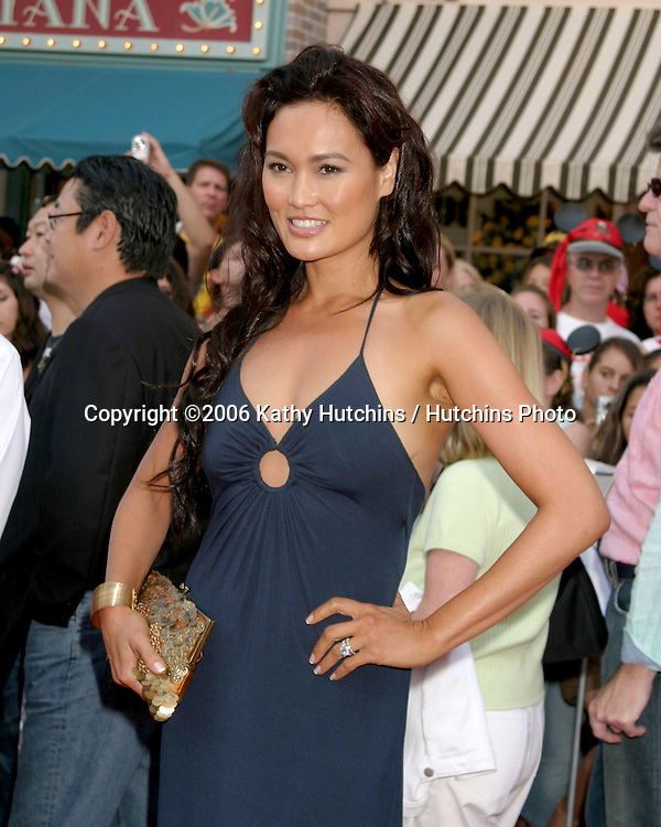 "Tia Carrere.""Pirates of the Caribbean: Dead Man's Chest"" Premiere.Disneyland .Anaheim, CA.June 14, 2006.©2006 Kathy Hutchins / Hutchins Photo...."