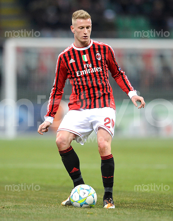 FUSSBALL   CHAMPIONS LEAGUE   SAISON 2011/2012     15.02.2012 AC Mailand - Arsenal London Ignazio Abate (AC Mailand)