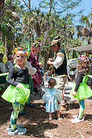 Dozens of faeries, elves and other enchanting creatures roamed the woods during the third annual Florida Faerie Festival in Bonita Springs, Florida, USA, March 19, 2011. Photo by Debi Pittman Wilkey