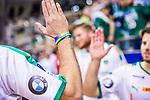 High-Five beim SC DHfK Leipzig beim Spiel in der Handball Bundesliga, SG BBM Bietigheim - SC DHfK Leipzig.<br /> <br /> Foto &copy; PIX-Sportfotos *** Foto ist honorarpflichtig! *** Auf Anfrage in hoeherer Qualitaet/Aufloesung. Belegexemplar erbeten. Veroeffentlichung ausschliesslich fuer journalistisch-publizistische Zwecke. For editorial use only.
