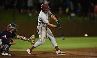 Stanford, Ca - June 3, 2019: The Stanford Cardinal vs Fresno State Bulldogs NCAA Regional baseball game at Sunken Diamond in Stanford, CA.
