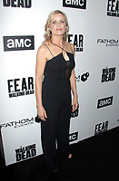"NEW YORK, NY - APRIL 15: Kim Dickens at AMC's ""Survival Sunday: The Walking Dead & Fear the Walking Dead NY Fan Event at AMC Empire 25 in New York City on April 15, 2018."