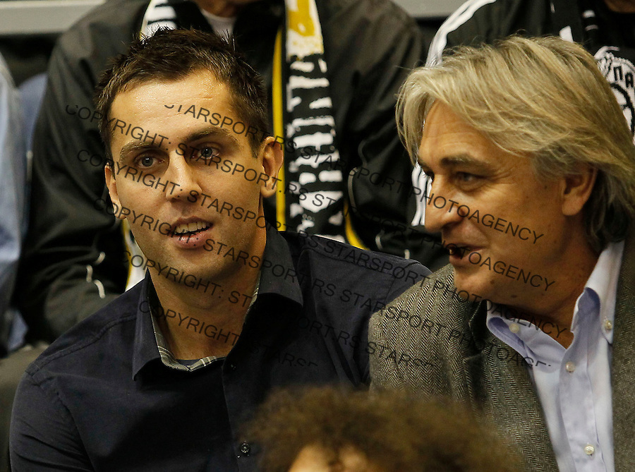 Kosarka, Euroleague, sezona 2011/2012.Partizan Vs. Real Madrid.Milos Vujanic, center.Belgrade, 10.11.2011..foto: Srdjan Stevanovic/Starsportphoto ©