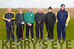 The Federation of Kerry County Council Golf Clubs.Pictured l-r Sean Spillane, George Nash (Captain),Eddie Hannafin (Secretary),Sean O'Connor (Treasurer),Tom Moriarty and Fergus Maloney at the  Kerry Captains Day at Castlegregory Golf Club on Saturday