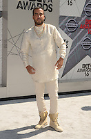 LOS ANGELES, CA - JUNE 26: French Montana at the 2016 BET Awards at the Microsoft Theater on June 26, 2016 in Los Angeles, California. Credit: David Edwards/MediaPunch