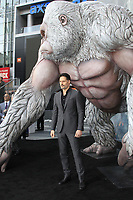 "LOS ANGELES - APR 4:  Joe Manganiello at the ""Rampage"" Premiere at Microsoft Theater on April 4, 2018 in Los Angeles, CA"