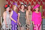 STYLE: Showing their style at the Kilmoyley NS Fashion Show at the Ballyroe Heights hotel on Thursday l-r: Rosario Godley, Brenda McElligott, Muireann Nolan, Mary Monahan and Mora Lovett...