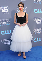 11 January 2018 - Santa Monica, California - Sarah Hyland. 23rd Annual Critics' Choice Awards held at Barker Hangar. <br /> CAP/ADM/BT<br /> &copy;BT/ADM/Capital Pictures