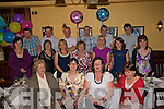 30 on the Double: Mags O' Sullivan and Catriona Stack held their birthday celebrations at Leens Hotel, abbeyfeale on Saturday evening. Front: Mary Keane, Mags O' Sullivan, Catriona Stack and Josephine McElligott. Mid: Breda Delaney, Martine McElligott, Morita and Lorraine Joy, Susan Kennedy and Rachel Stack. Back: Denis Delaney, Thomas Keane, Kieron Stack, anthony Enright, Patrick Kennedy and Denis O' Sullivan.
