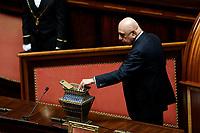 Adriano Galliani<br /> Roma 23/03/2018. Prima seduta al Senato dopo le elezioni.<br /> Rome March 23rd 2018. Senate. First sitting at the Senate after elections.<br /> Foto Samantha Zucchi Insidefoto