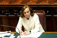 Italian Minister of Internal Affairs Luciana Lamorgese during the Premier speech at the Chamber of Deputies. Rome (Italy), July 22nd 2020<br /> Foto Samantha Zucchi Insidefoto