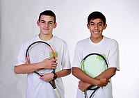 NWA Democrat-Gazette/SPENCER TIREY <br /> Eddie Hunter/Carlos Rosas, Haas Hall Bentonville (Class 2A state champion)