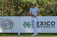 Rickie Fowler (USA) watches his tee shot on 17 during the preview of the World Golf Championships, Mexico, Club De Golf Chapultepec, Mexico City, Mexico. 2/28/2018.<br /> Picture: Golffile | Ken Murray<br /> <br /> <br /> All photo usage must carry mandatory copyright credit (&copy; Golffile | Ken Murray)