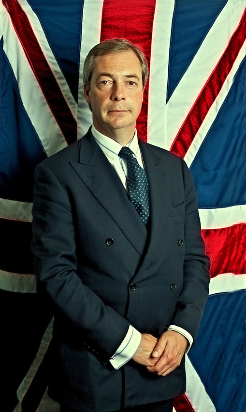 NIgel Farage, MEP, and Leader of the United Kingdom Independence Party, UKIP.