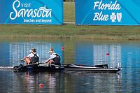 Sarasota. Florida USA.  NZL W2-. Bow. Grace<br /> PRENDERGAST and Kerri<br /> GOWLER, Final A . 2017 World Rowing Championships, Nathan Benderson Park<br /> <br /> Saturday  30.09.17   <br /> <br /> [Mandatory Credit. Peter SPURRIER/Intersport Images].<br /> <br /> <br /> NIKON CORPORATION -  NIKON D500  lens  VR 500mm f/4G IF-ED mm. 250 ISO 1/800/sec. f 7.1