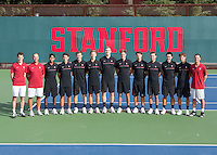 Stanford Tennis M Portraits and Team Photo, December 9, 2016