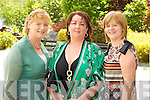 Pictured at the Enable Ireland Ladies Luncheon in the Earl of Desmond Hotel, Tralee on Friday, from left: Eileen Falvey (Ballyvelly), Mary Kinsella (Kerins Park) and Ruth O'Connor (Barrow East)..