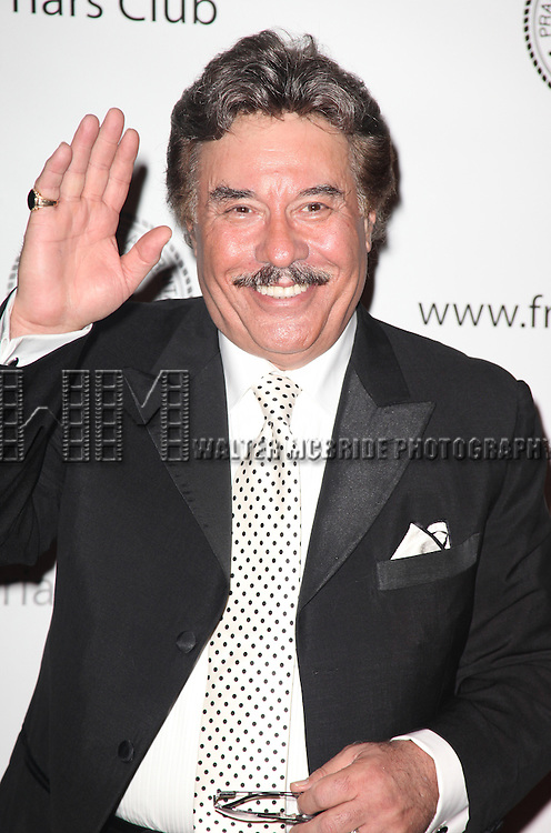 Tony Orlando.attending the 2011 Friars Foundation Applause Award Gala in New York City.