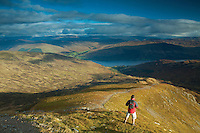 Loch Earn from Ben Vorlich